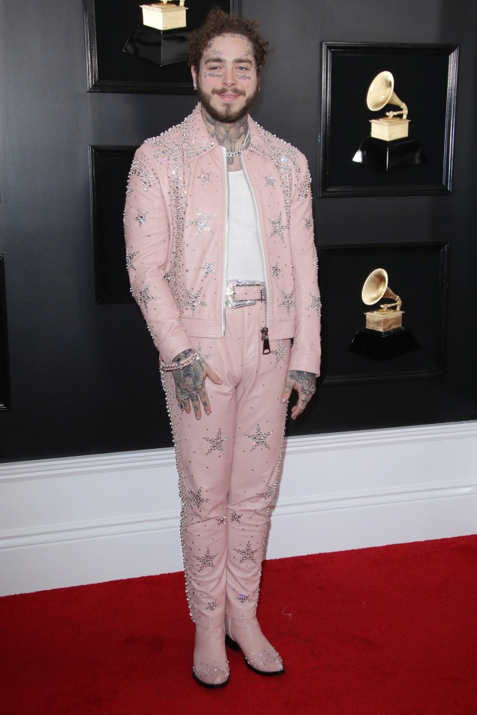 Post Malone61st Annual Grammy Awards, Arrivals, Los Angeles, USA - 10 Feb 2019
