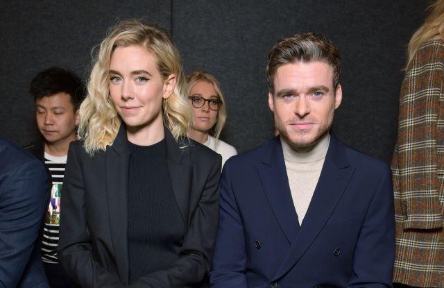Vanessa Kirby and Richard Madden in the front rowMarc Jacobs show, Front Row, Fall Winter 2019, New York Fashion Week, USA - 13 Feb 2019