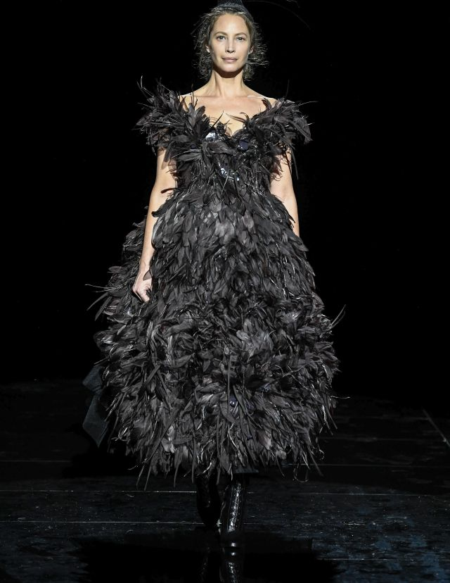 Christy Turlington on the catwalkMarc Jacobs show, Fall Winter 2019, New York Fashion Week, USA - 13 Feb 2019