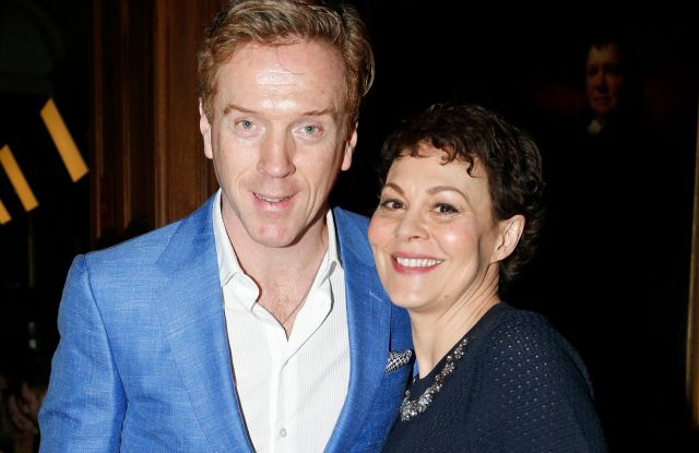 Damian Lewis and Helen McCrory in the front rowErdem show, Front Row, Fall Winter 2019, London Fashion Week, UK - 18 Feb 2019
