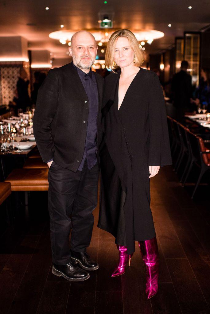 Hussein Chalayan and Roisin MurphyHussein Chalayan 25th Anniversary Dinner