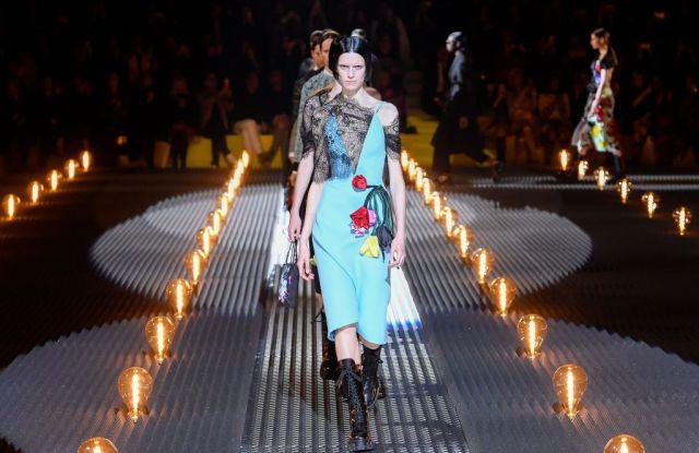 Models on the catwalkPrada show, Runway, Fall Winter 2019, Milan Fashion Week, Italy - 21 Feb 2019