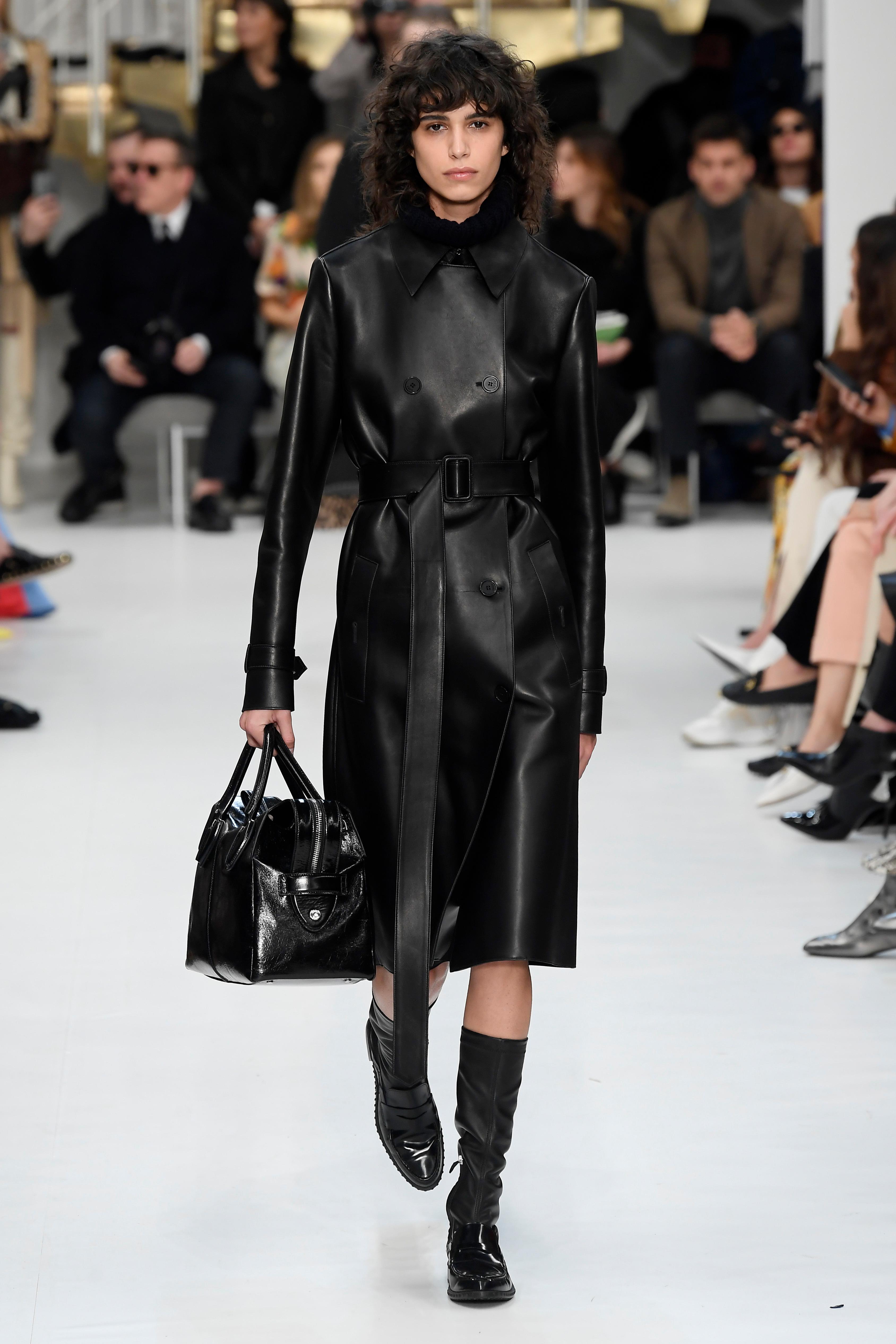 Model on the catwalkTod's show, Runway, Fall Winter 2019, Milan Fashion Week, Italy - 22 Feb 2019