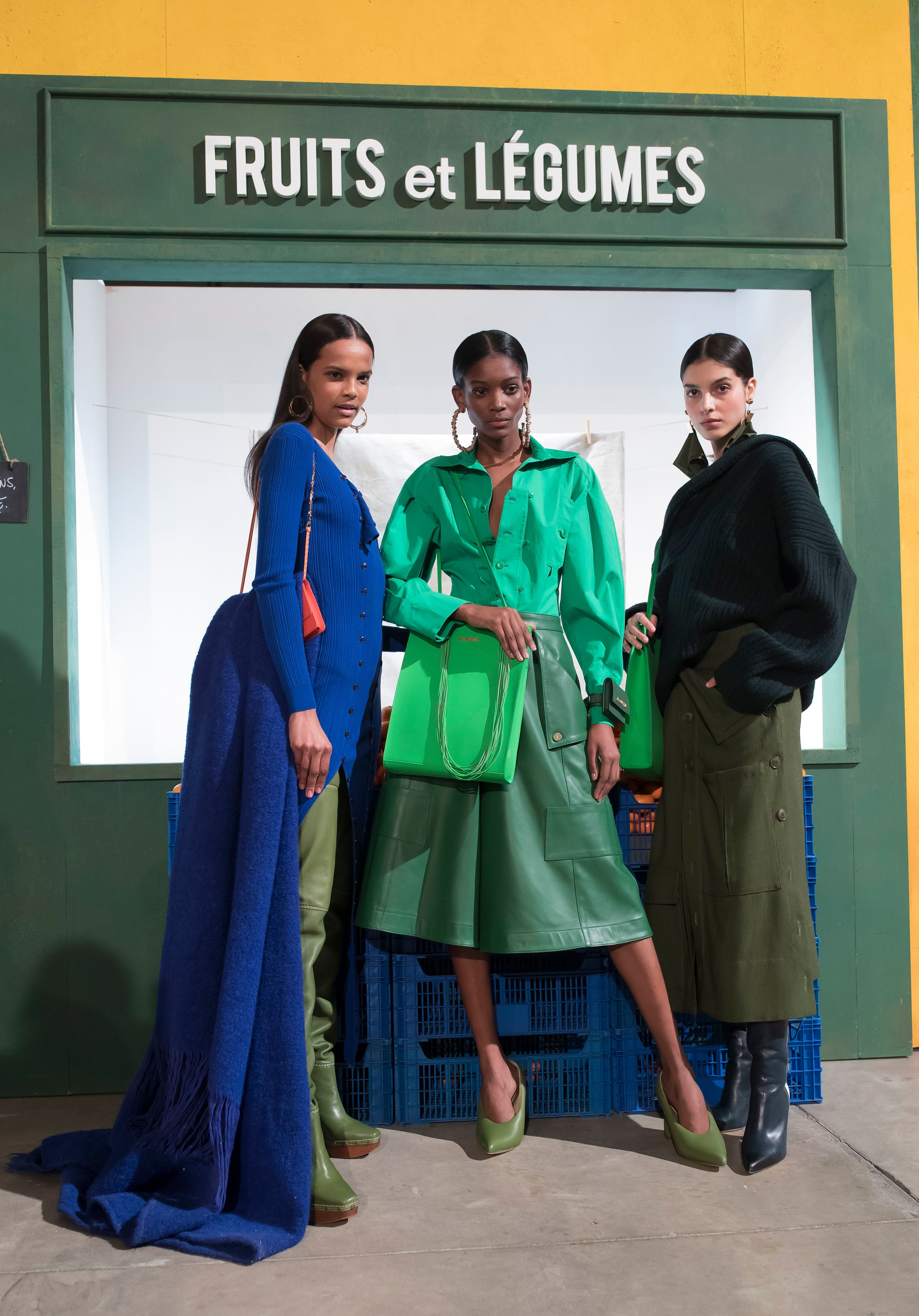 Models present creations from the Fall/Winter 2019/20 Women collection by French designer Jacquemus during the Paris Fashion Week, in Paris, France, 25 February 2019. The presentation of the Women collections runs from 25 February to 05 March.Jacquemus - Runway - Paris Fashion Week Women F/W 2019/20, France - 25 Feb 2019