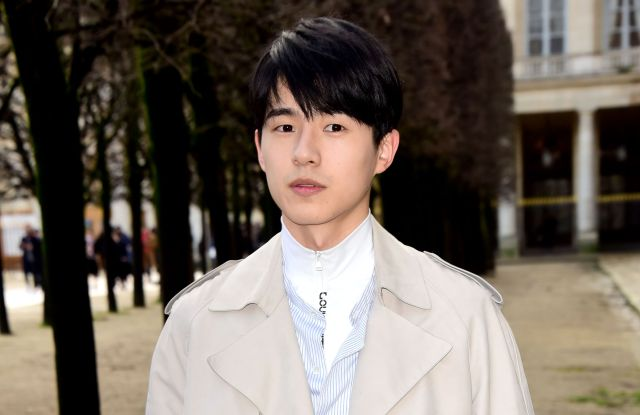 Liu HaoranLouis Vuitton show, Arrivals, Fall Winter 2018, Paris Fashion Week Men's, France - 18 Jan 2018