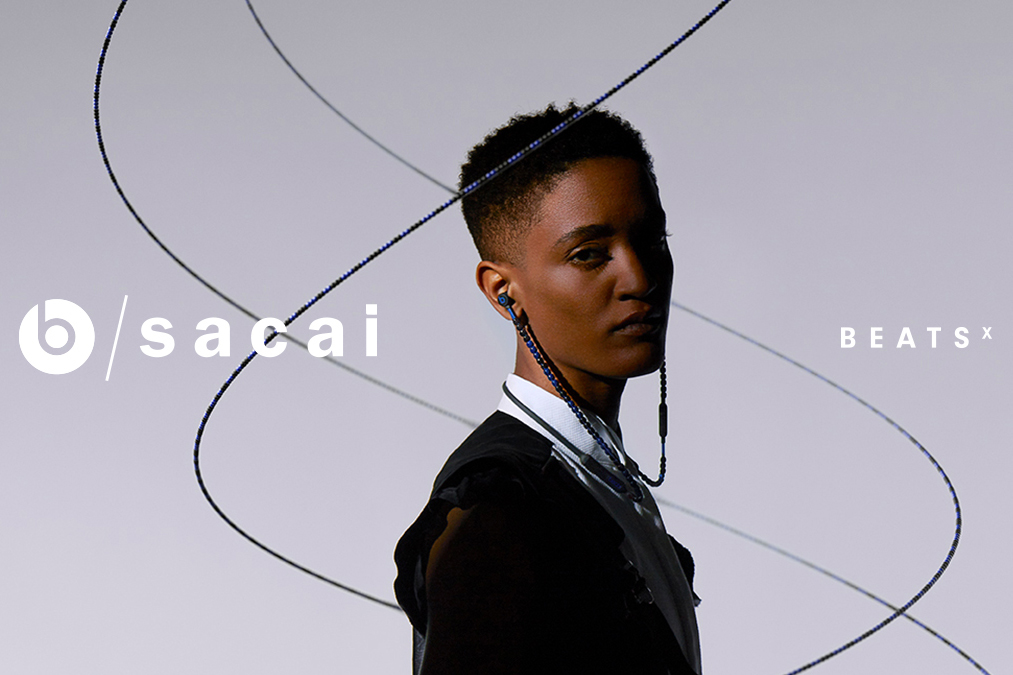 The Sacai x Beats collaboration.