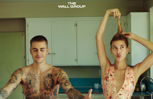 The Wall Group client, Karla Welch, recently styled a shoot for Vogue of Justin Bieber and Hailey Baldwin.
