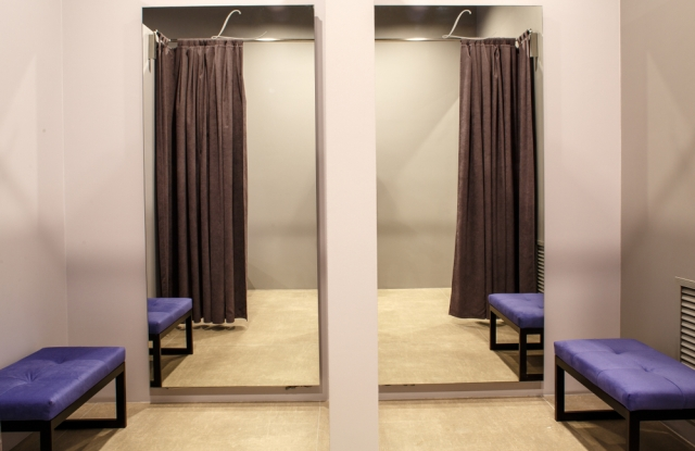 Sitting room to fitting room experiences may facilitate higher spend.