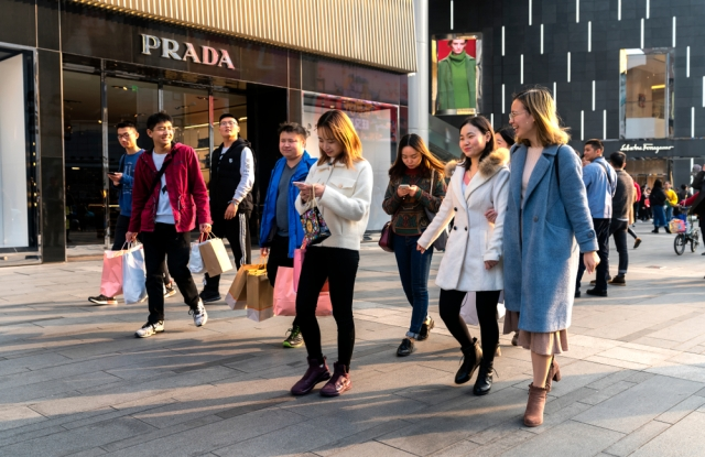 Chinese shoppers are arguably even more tech savvy and digital than their western counterparts