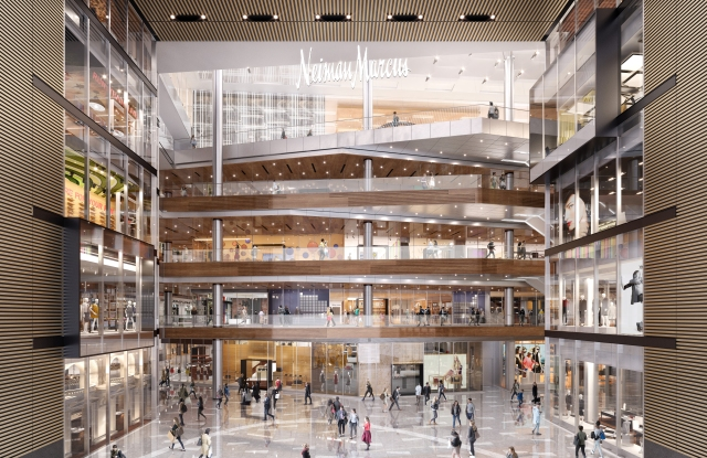 Rendering of The Great Room at The Shops & Restaurants at Hudson Yards.