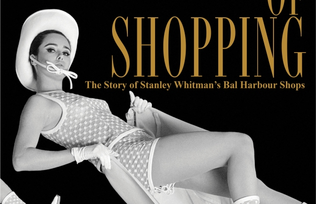 The cover of the book about Bal Harbour Shops.