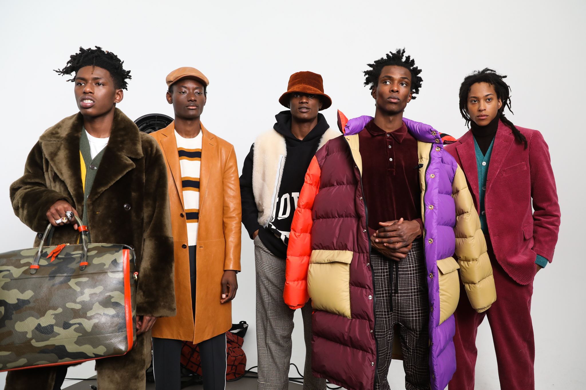 Backstage at Todd Snyder Mens Fall 2019