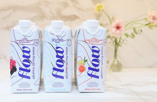 Flow is Goop's first wellness water partner.