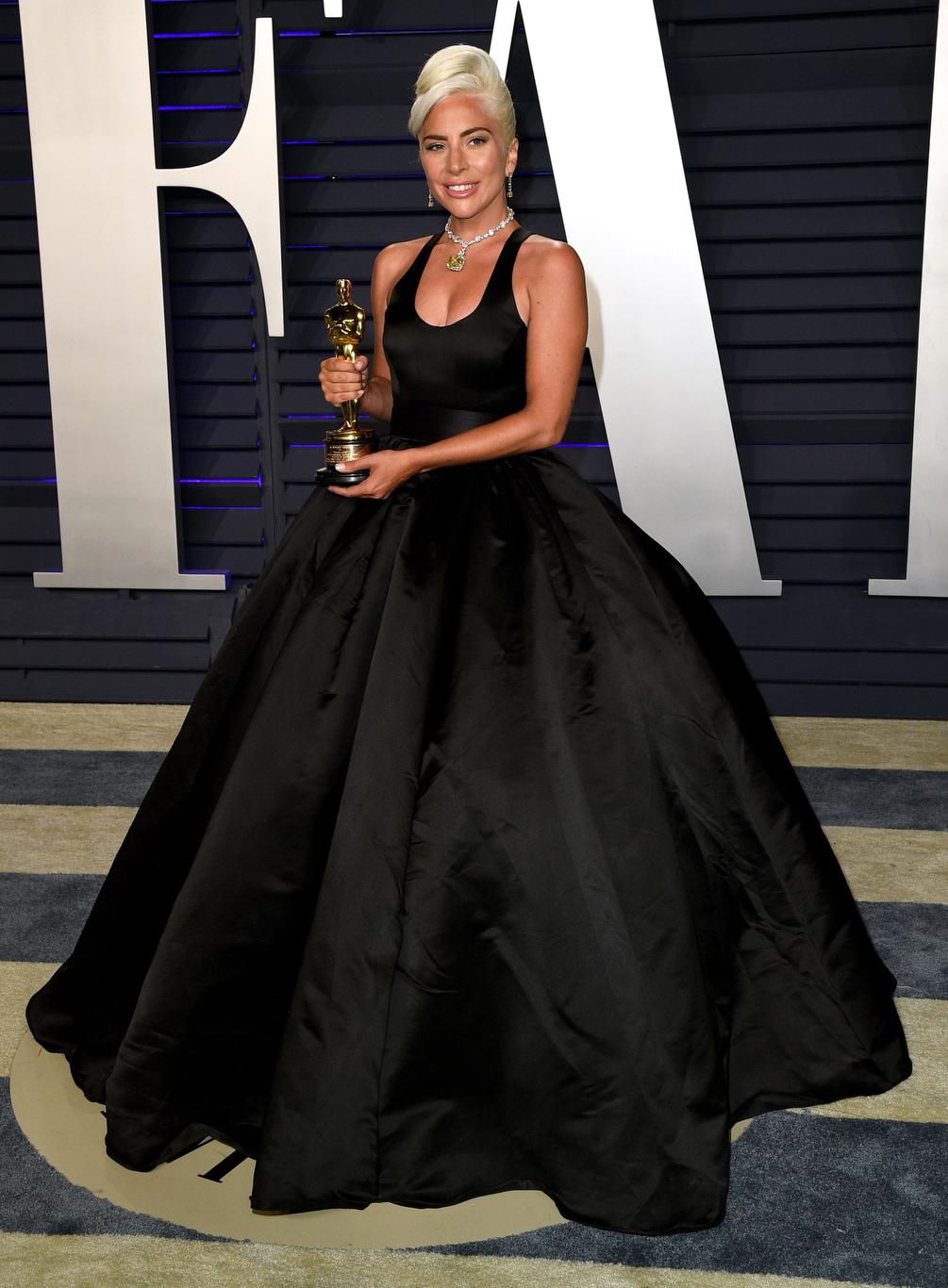 Lady Gaga wearing Brandon Maxwell