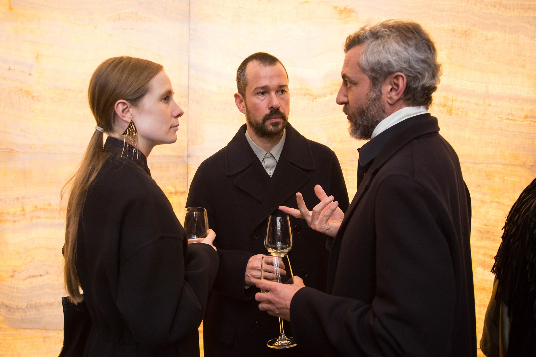 Lucie Meier, Luke Meier, and Stefano Pitigliani