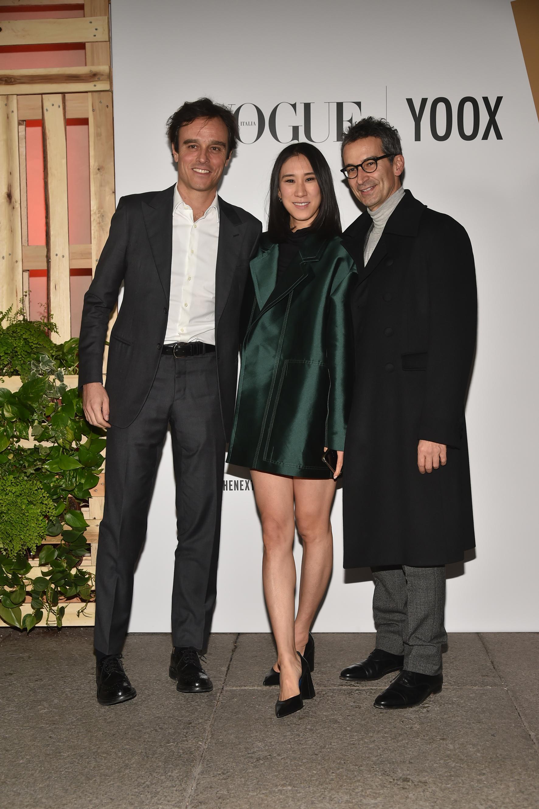 Emanuele Farneti, Eva Chen and Federico Marchetti