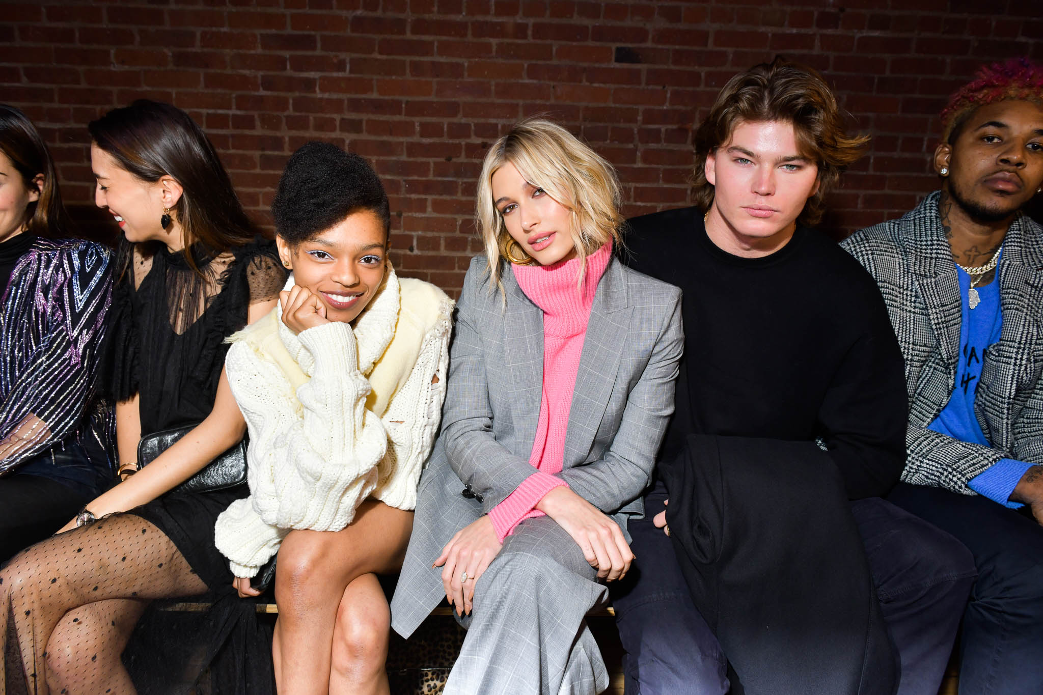 Front Row at Zadig and Voltaire RTW Fall 2019