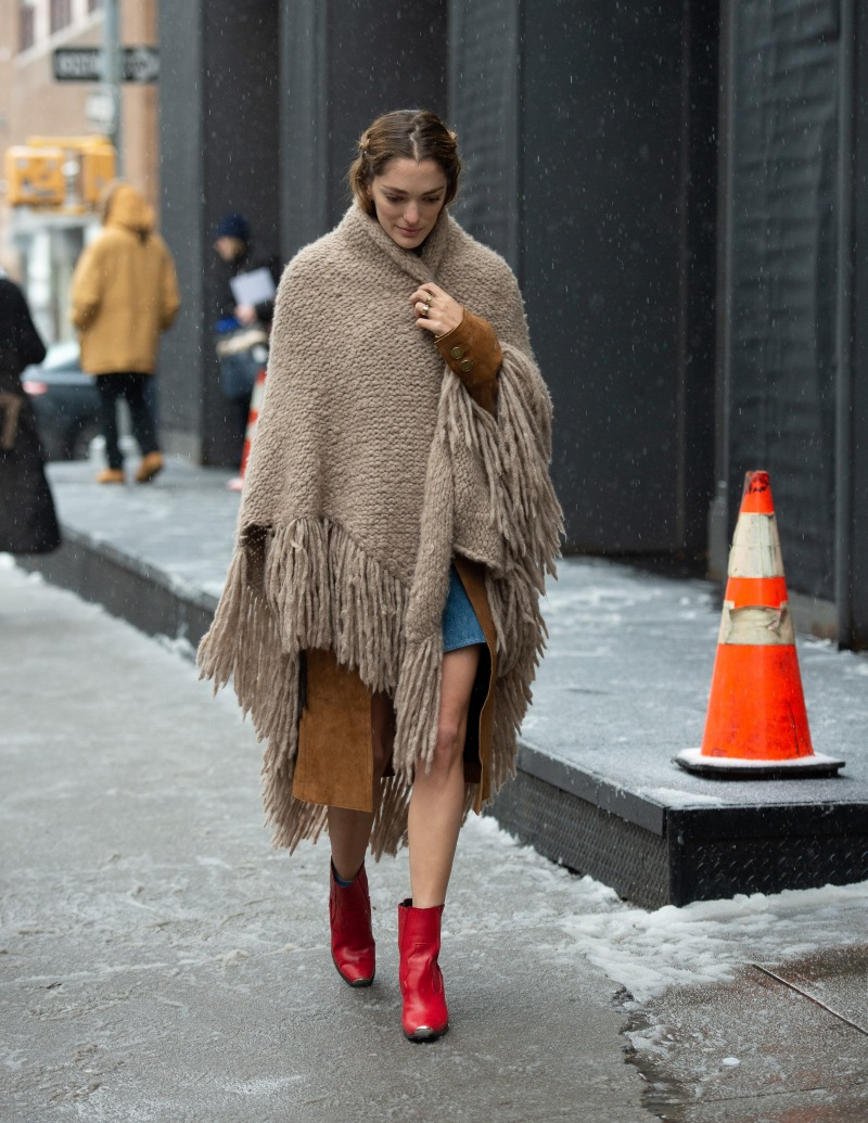 Winter 2019 Street Style Photos From New York Fashion Week Wwd