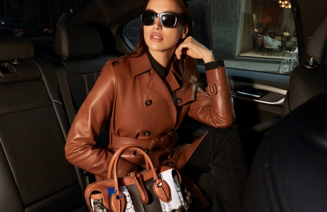 """Irina Shayk appars in Tod's """"My life is in this bag"""" short movie series"""
