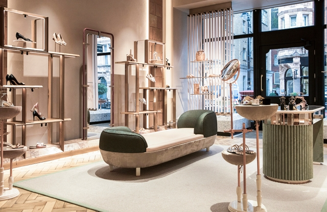 Sergio Rossi's Mount Street store