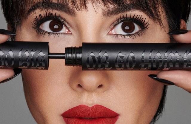 Jackie Cruz is the face of Kat Von D's new mascara.