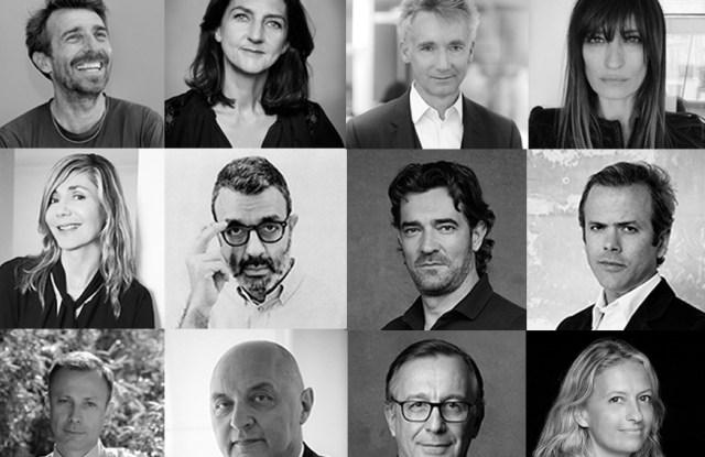 The members of the 2019 ANDAM jury