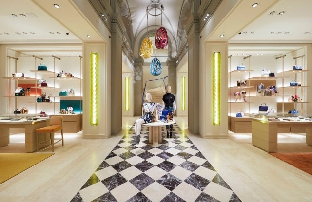 Inside Louis Vuitton Flagship in Florence