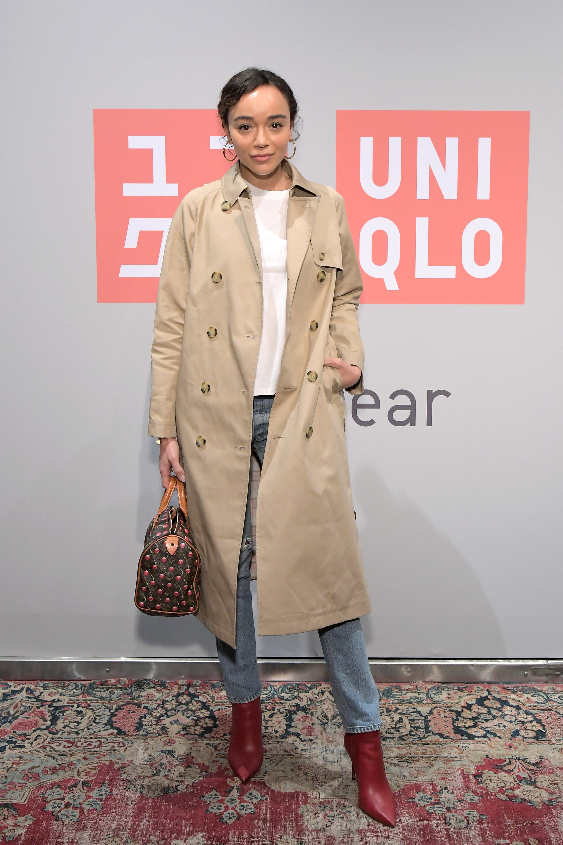 LOS ANGELES, CA - MARCH 07: Ashley Madekwe attends the UNIQLO 2019 Collections Celebration at Smogshoppe on March 7, 2019 in Los Angeles, California. (Photo by Charley Gallay/Getty Images for UNIQLO)