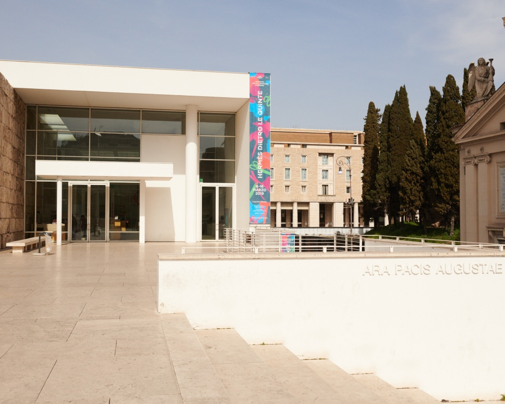 The Museum of Ara Pacis in Rome.