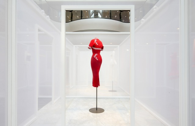 """the Azzedine Alaïa 1992 collection exhibition """"The Secret Alchemy of a collection"""" in SKP Beijing"""