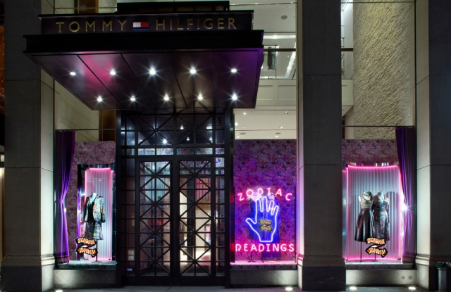The Tommy Hilfiger store on 5th Ave.