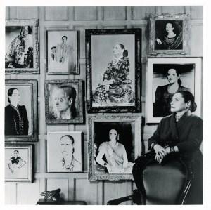 Helena Rubinstein and her portraits.