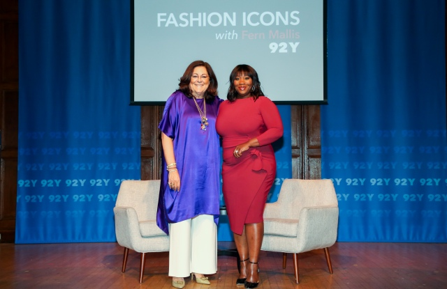 Fern Mallis and Bevy Smith