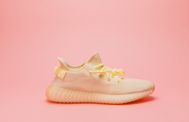 StockX best-seller, the the Adidas Yeezy Boost 350 V2 in butter.