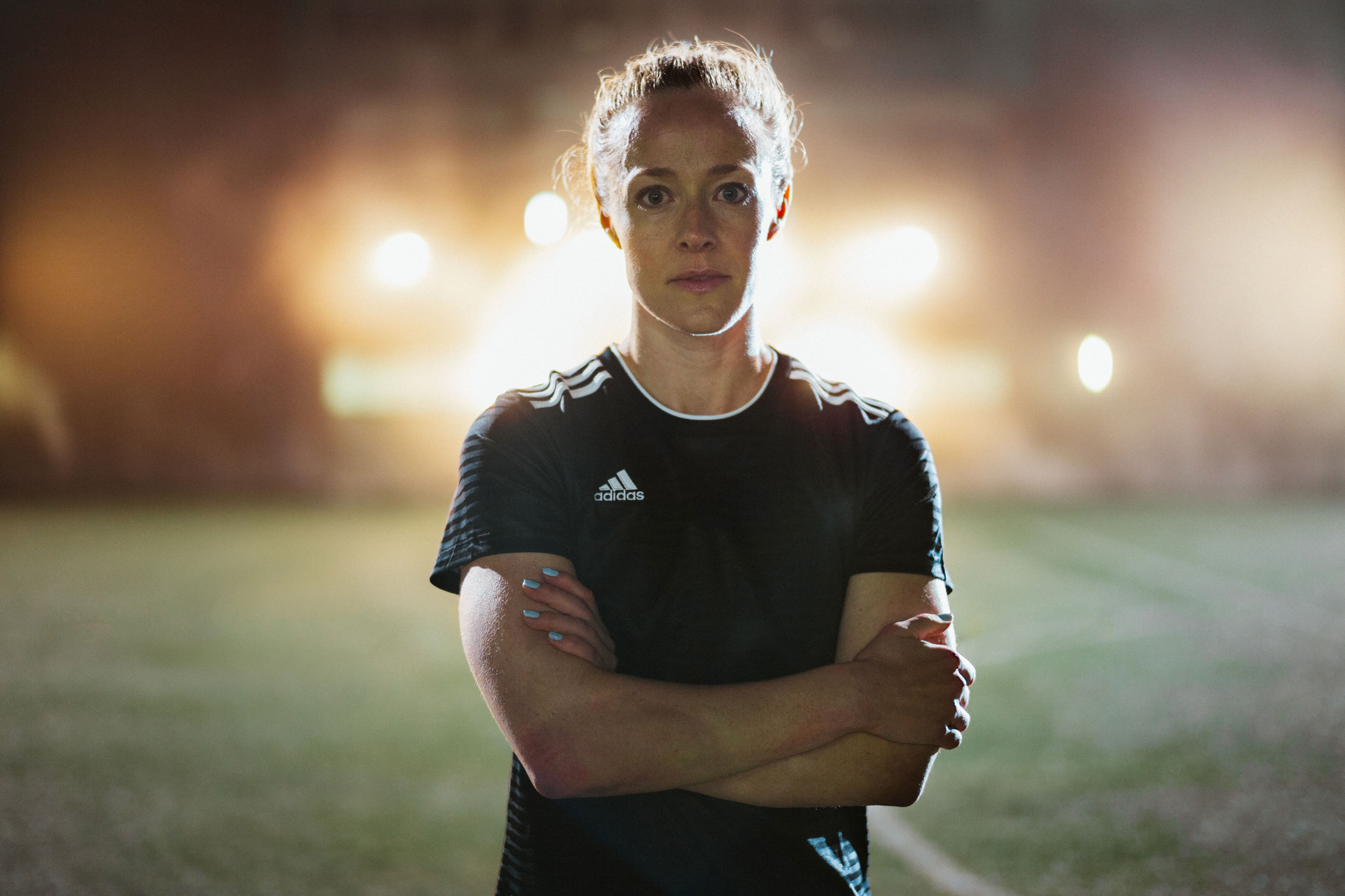Becky Sauerbrunn is helping Adidas' efforts for equal media representation for women's sports.