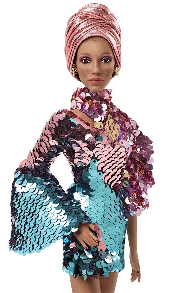The Adwoa Hero Barbie doll