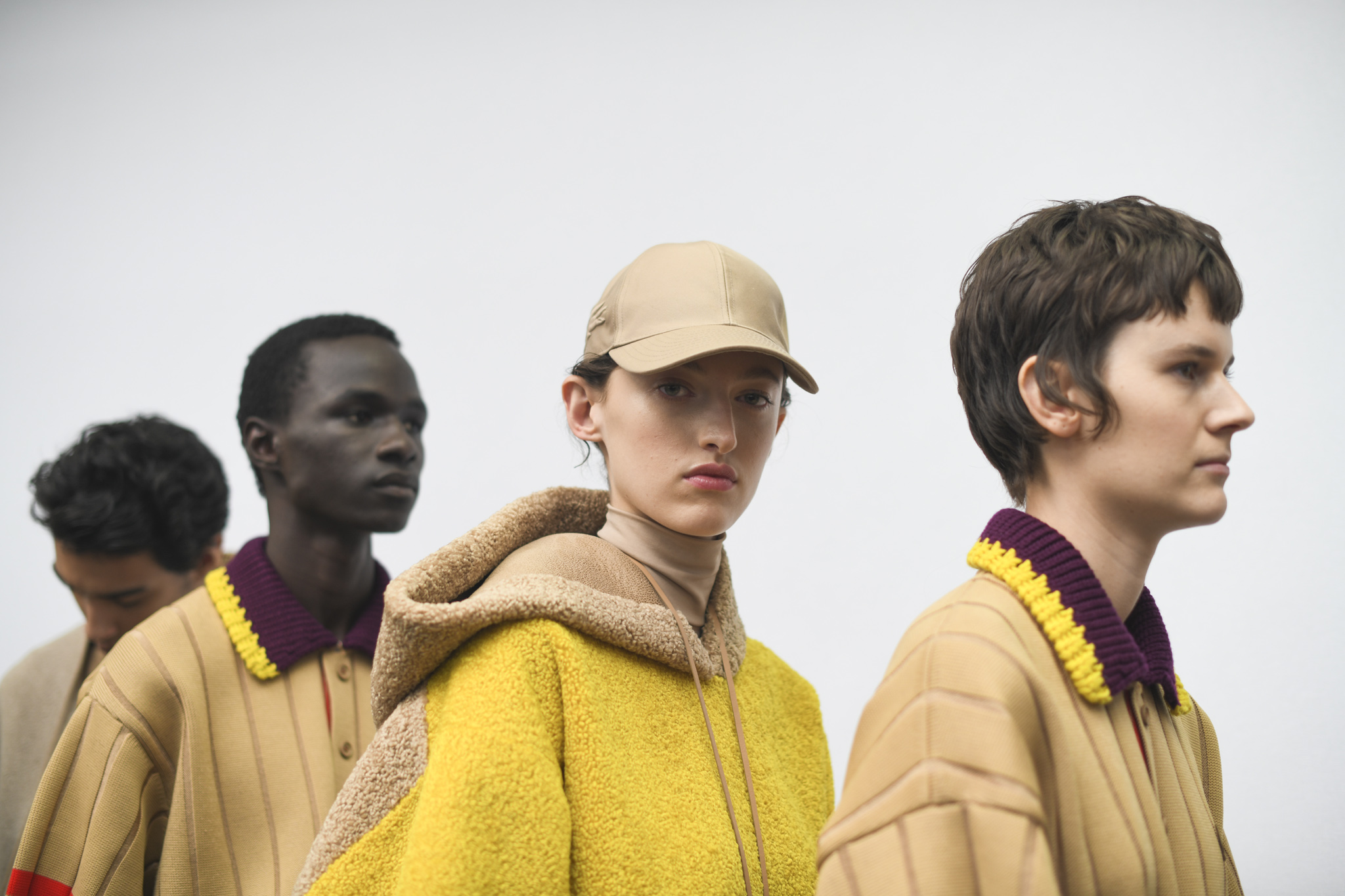 Backstage at Lacoste RTW Fall 2019
