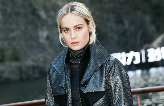 Brie Larson at K-Boxing fashion show in Shanghai.