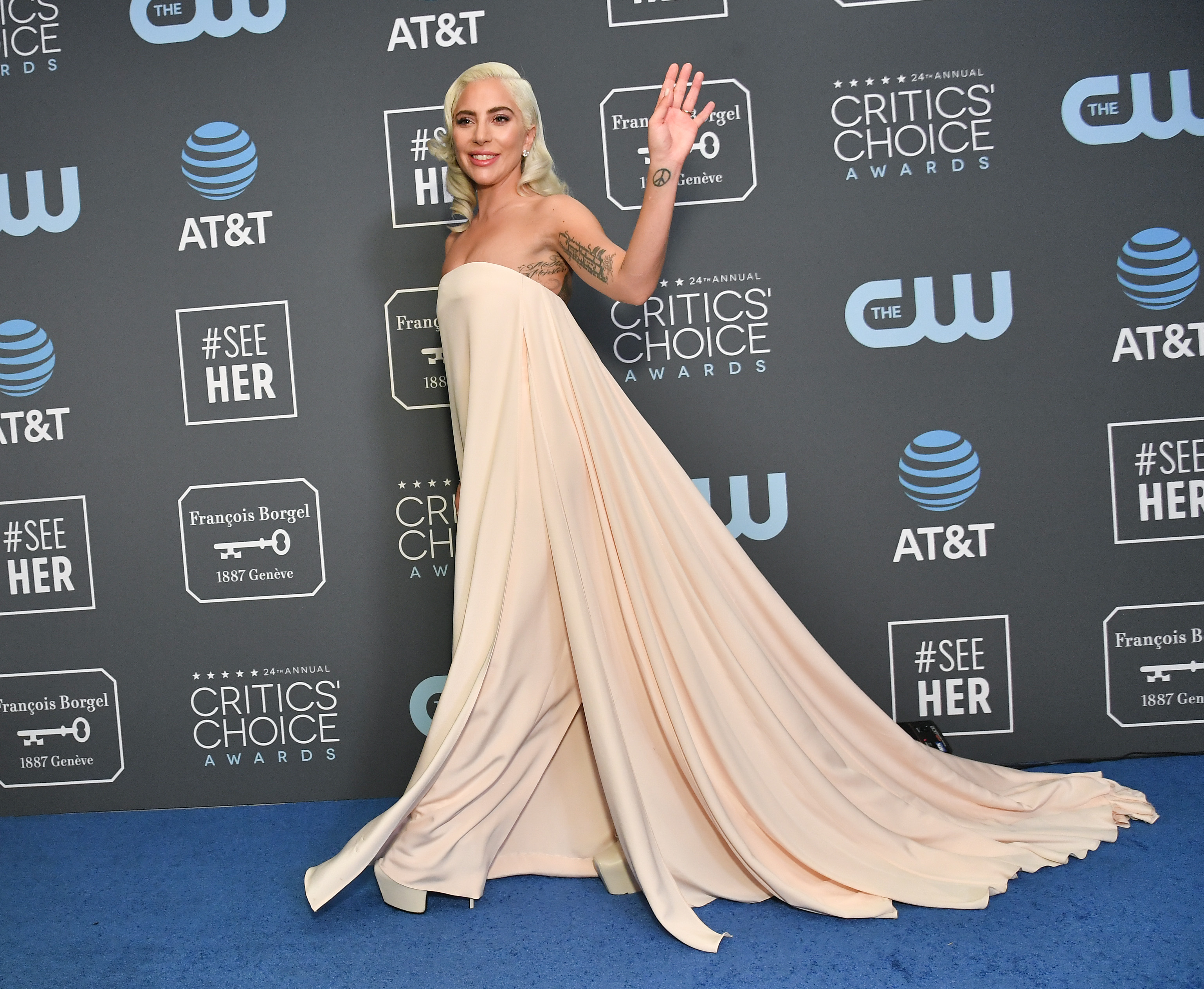 Lady Gaga Calvin Klein's Most Memorable Red Carpet Looks