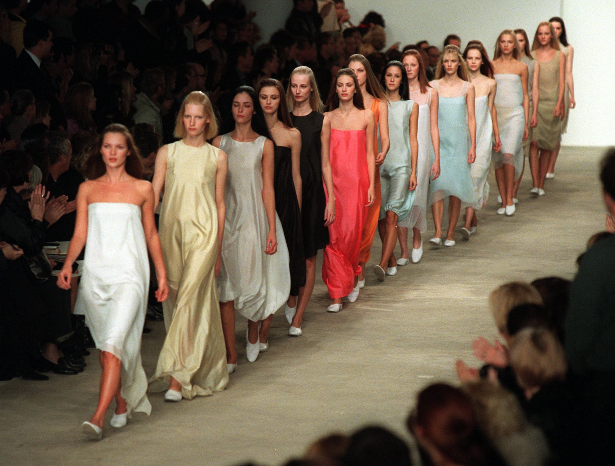 Calvin Klein's Most Memorable Runway Looks