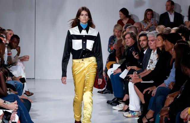 Calvin Klein's Most Memorable Runway Moments