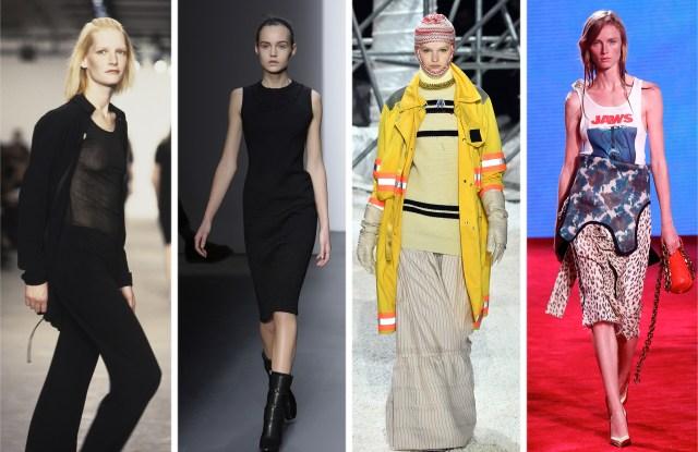 Calvin Klein RTW Spring 1998, Fall 2009, Fall 2018, Spring 2019