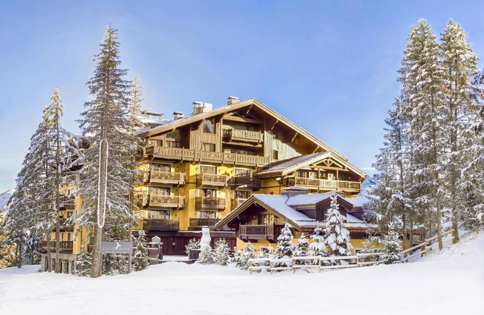 Le Cheval Blanc Courchevel, the first Cheval Blanc hotel opened by LVMH in 2006