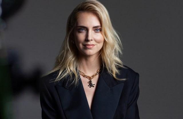 Chiara Ferragni in the Pomellato video