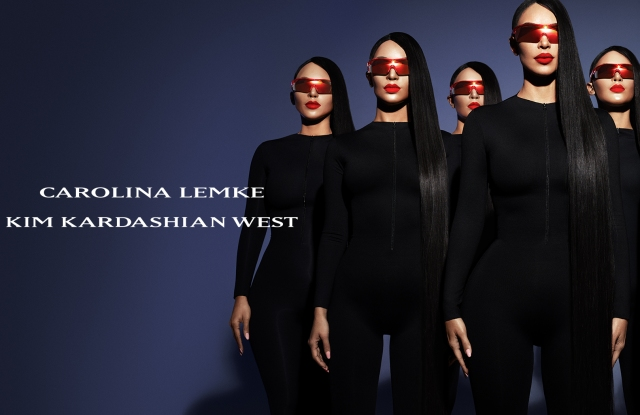 """Eyewear brand Carolina Lemke is diving into the US market head first. The Israeli based brand cemented collaboration last year designed by Kim Kardashian West, and is using it to springboard into the market starting first with a campaign staring none other than Kardashian herself. Called the """"Kim Kardashian West Collection for Carolina Lemke"""" collection, it is the first time the brand has gone the collaboration route but according to CEO Mordi Shabat, the US market has been in his sights for a while. """"In Israel, we are all over."""" Shabat said, of the brand which was founded in 2011 was founded in 2011 by Yossi Gabizon and his wife Carolina Lemke in Berlin, and is known for his mass market prices, all styles are under $100 retail. """"And we've been thinking about the company's growth potential. And the US is the right place to start"""" Kardashian is not only taking up design duties, but the reality tv star is also a partner in the brand, receiving an undisclosed amount for her long-term investment in the brand. Previously, Israeli model Bar Rafeail was the face of the brand, doing several commercials with """"hot felon"""" Jeremy Meeks, and it was Rafaeli that connected Kardashian to the founders. """"The story is pretty similar to Kim"""" Shabat said, adding that Raefeali has been a partner in the company since 2013. """"The first time we put Bar on billboards it was a massive response. It helped us become the strongest eyewear company in Israel."""" Now Shabat is hoping for the same type of lightening in a bottle with Kardashian in the American market. """"She was involved in every detail and it was really amazing the process."""" Shabat says of the design process, adding that she was inspired by cutting edge fashion """"She doesn't want it to be like other types of mass-market eyewear"""" I'm always looking for vintage sunglasses that no one has, so getting to create something that other people will be able to cherish as much as I do, has been fun to be a part of."""" Kardashian said. """"I've learned so"""