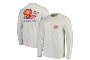 Vineyard Vines' licensed sports apparel