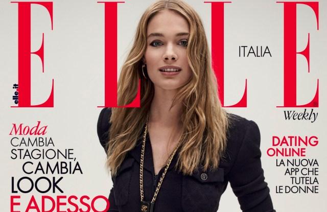Elle Italia's latest cover.
