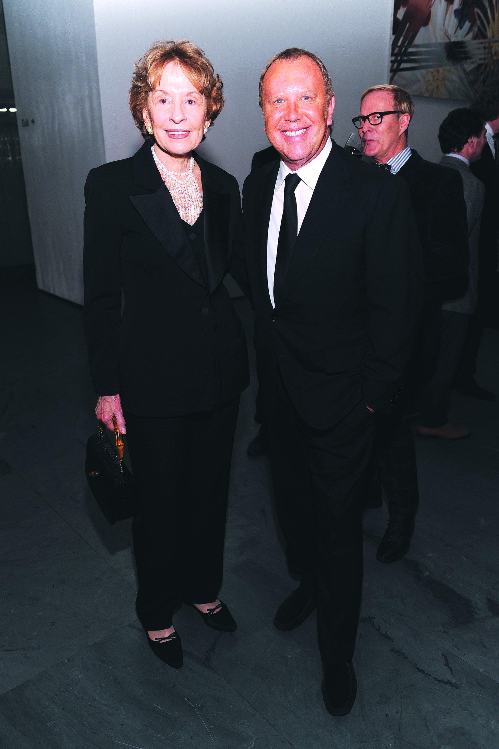 Dawn Mello and Michael Kors