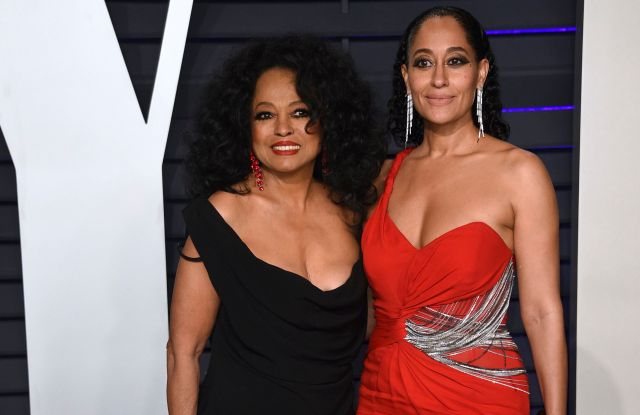Diana Ross, Tracee Ellis Ross. Diana Ross, left, and Tracee Ellis Ross arrive at the Vanity Fair Oscar Party, in Beverly Hills, Calif91st Academy Awards - Vanity Fair Oscar Party, Beverly Hills, USA - 24 Feb 2019