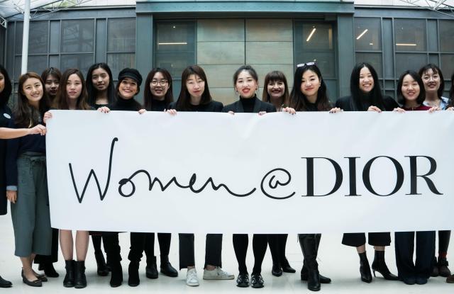Women @ Dior in 2018.
